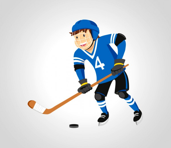 Illustration Hockey